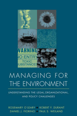 Managing for the Environment by Rosemary O'Leary image