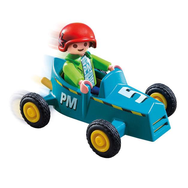 Playmobil: Special Plus - Boy with Go Kart