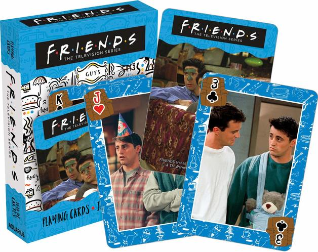 Friends – Guys Playing Cards