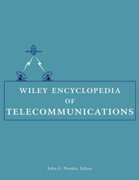 Wiley Encyclopedia of Telecommunications by J. G. Proakis image