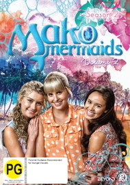 Mako Mermaids: Season 2 Volume 2 on DVD