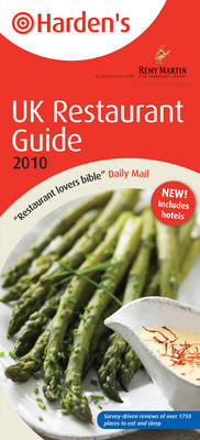 Harden's UK Restaurant Guide by Richard Harden image