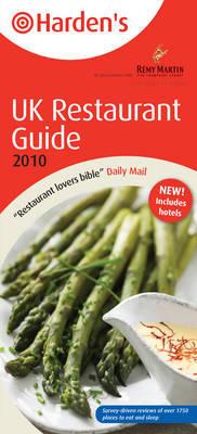 Harden's UK Restaurant Guide by Richard Harden image