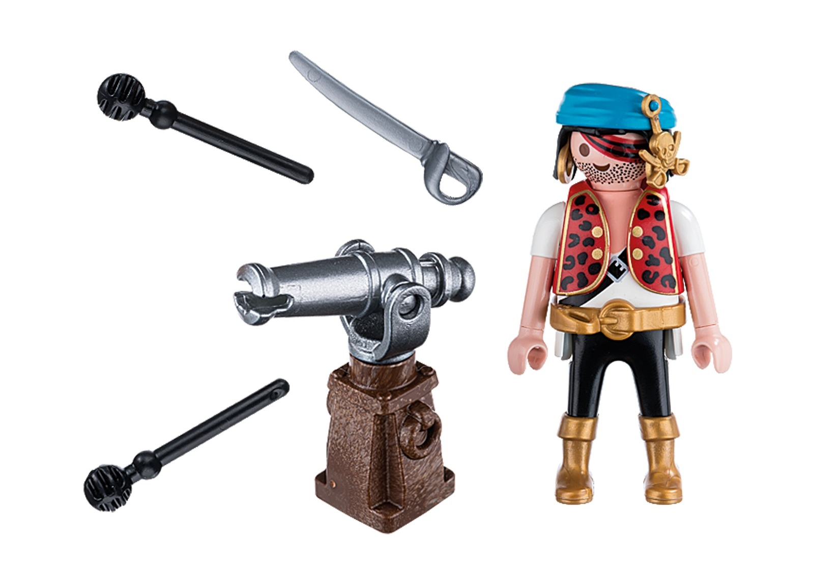 Playmobil: Special Plus Pirate with Cannon image
