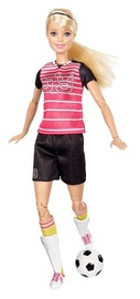 Barbie: Made to Move - Soccer Player Doll (Blond)