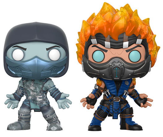 Mortal Kombat - Scorpion & Sub-Zero Pop! Vinyl 2-Pack image