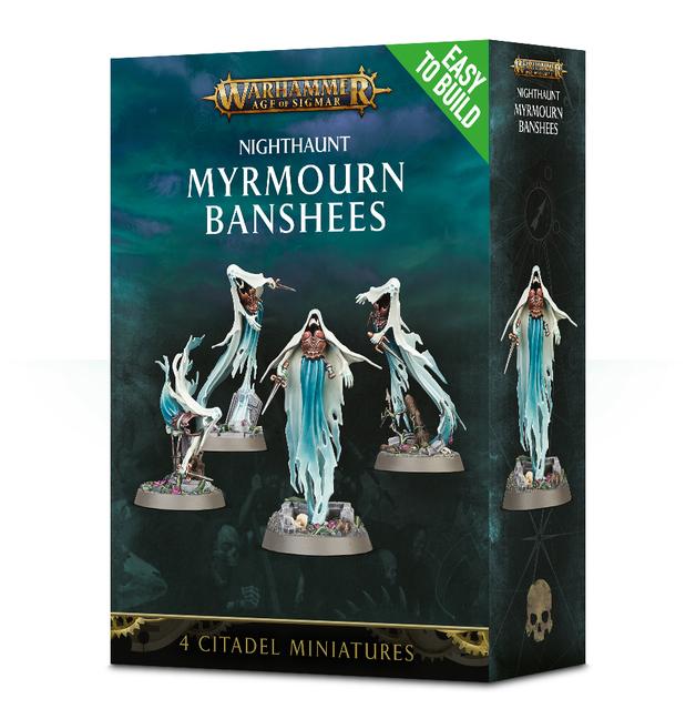 Warhammer Age of Sigmar: Easy to Build Myrmourn Banshees