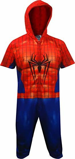 Marvel: Spider-Man Cropped - Union Suit (Large)