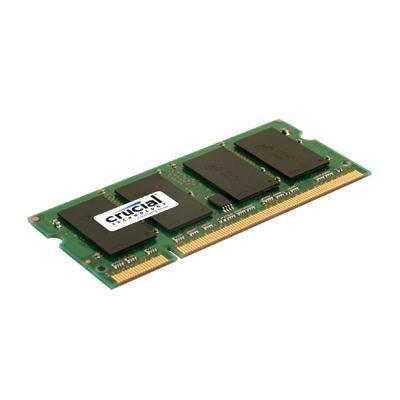 Crucial 2GB DDR2-667 NON-ECC SODIMM image