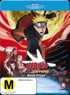 Naruto Shippuden - Movie 5: Blood Prison on Blu-ray