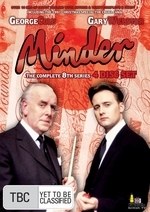 Minder - Complete Series 8 (4 Disc Box Set) on DVD