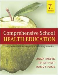 Comprehensive School Health Education: Totally Awesome Strategies For Teaching Health by Linda Brower Meeks image