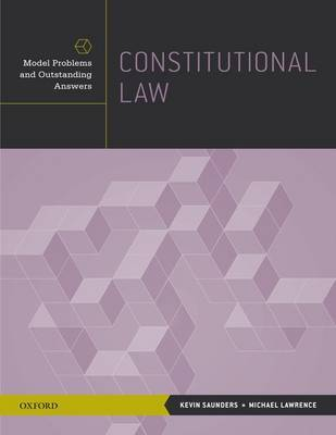 Constitutional Law by Kevin Saunders image