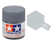 Tamiya Acrylic: Chrome Silver (X11)