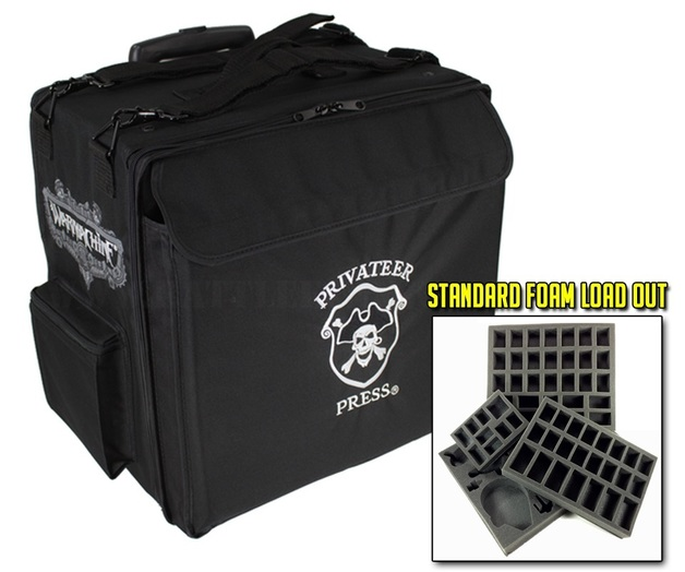 Battle Foam: Privateer Press Big Bag with Wheels Standard Load Out