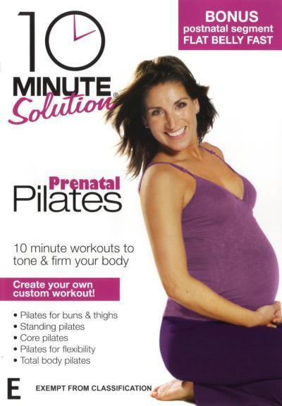 10 Minute Solution: Prenatal Pilates on DVD image