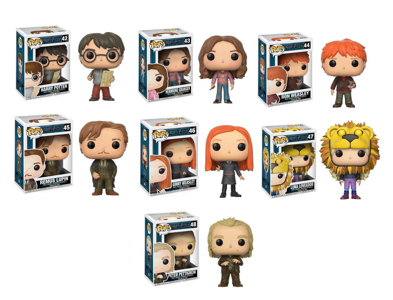 Harry Potter Wave 4 - Pop! Vinyl Bundle image