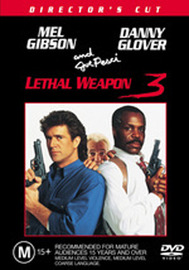 Lethal Weapon 3:  Director's Cut on DVD