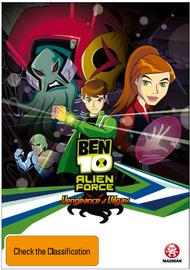 Ben 10: Alien Force - The Vengeance of Vilgax on DVD