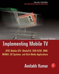 Implementing Mobile TV by Amitabh Kumar image