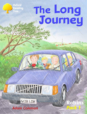 Oxford Reading Tree: Robins: Pack 1: the Long Journey by Adam Coleman image