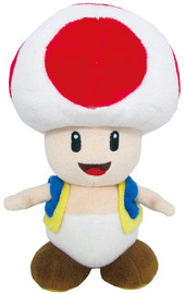 "Super Mario Bros: Toad - 8"" Gaming Plush"