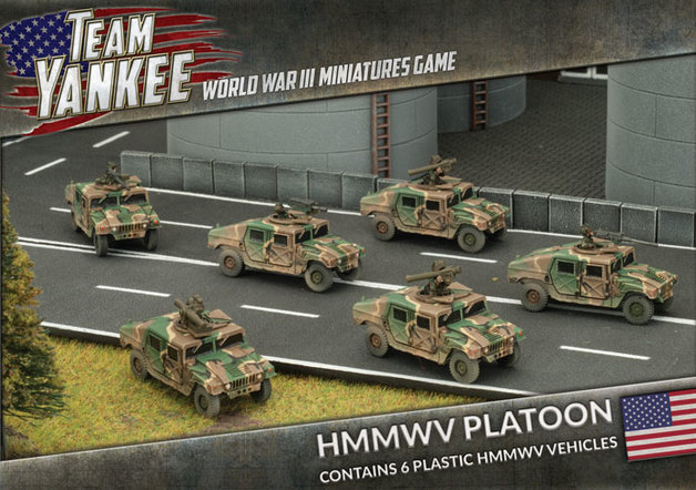 Team Yankee: HMMWV Platoon (x6)