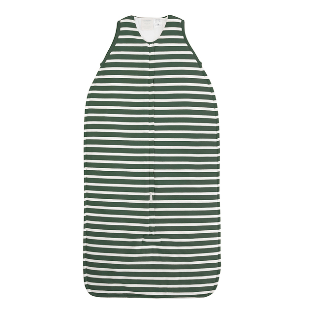Woolbabe: 3-Seasons Front Zip Woolbabe Fern Stripe - 2-4 Years