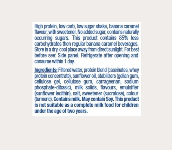 Atkins PLUS Protein-Packed Shake - Dark Chocolate (400ml) image