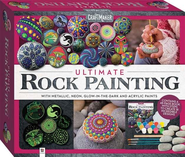 Hinkler: Craftmaker - Ultimate Rock Painting Kit