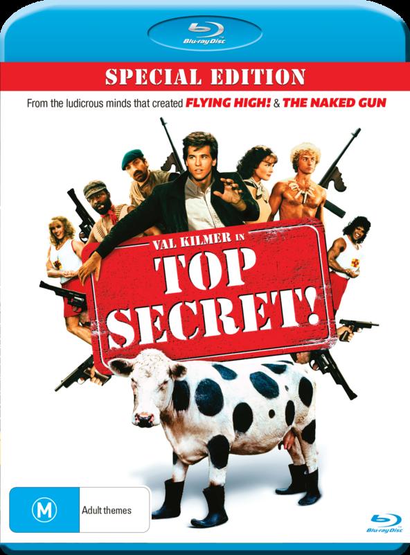 Top Secret on Blu-ray