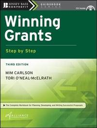 Winning Grants Step-by-step by Alliance for Nonprofit Management image