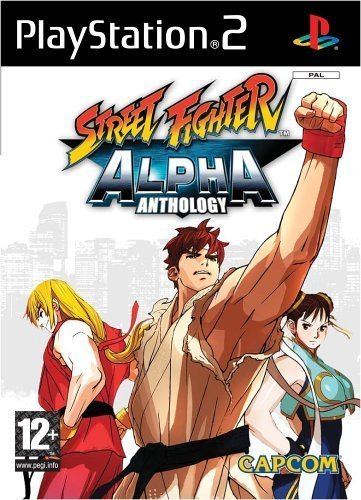 Street Fighter Alpha Anthology for PlayStation 2