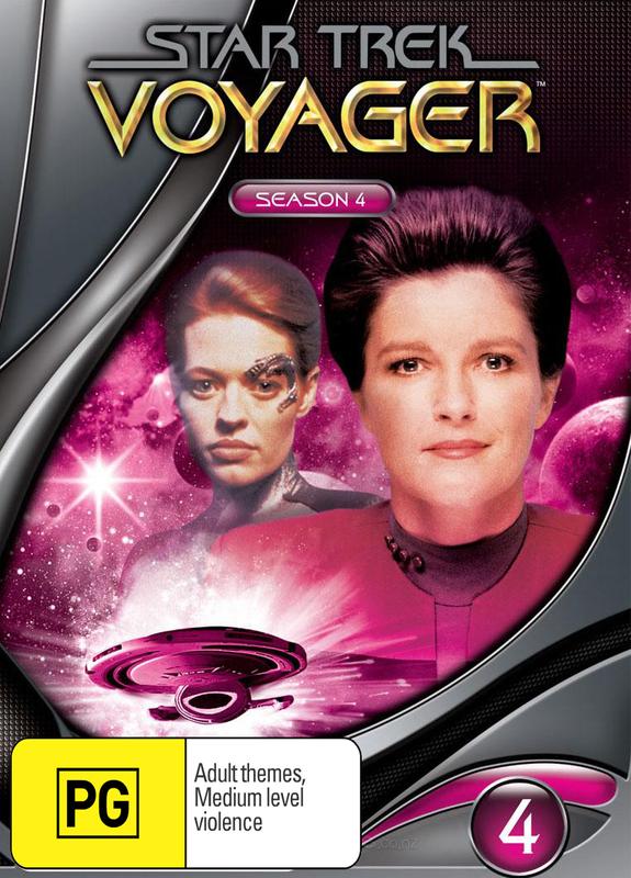 Star Trek: Voyager - Season 4 (New Packaging) on DVD