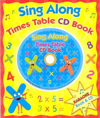 Sing Along Times Table (Book + CD) image
