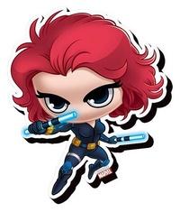 Avengers: Chibi Funky Chunky Magnet - Black Widow