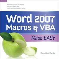 Word 2007 Macros and VBA Made Easy by Guy Hart-Davis image