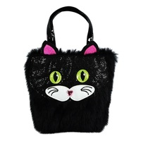 Pink Poppy Furry Friends Handbag - Cat