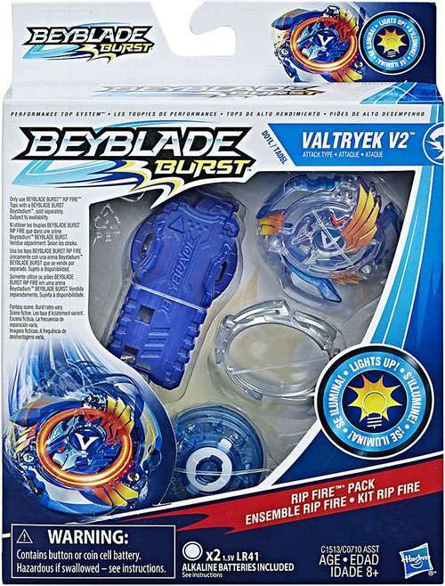 Beyblade Burst Valtryek V2 Rip Fire Pack Toy At