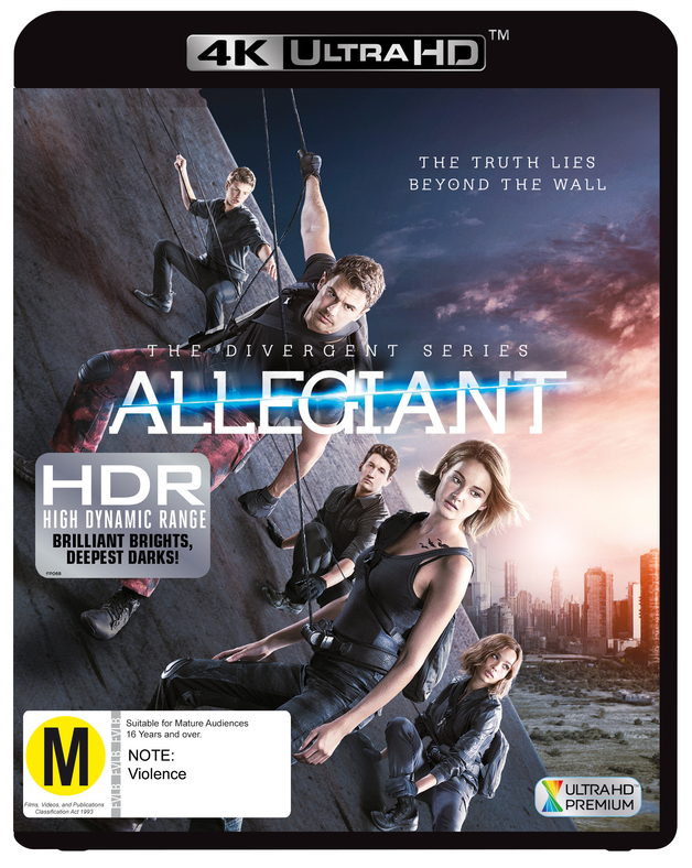 Allegiant on UHD Blu-ray