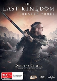 The Last Kingdom: Season 3 on DVD