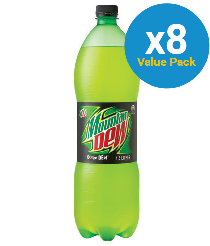 Mountain Dew 1.5L (8 pack)