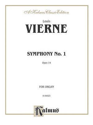 Symphony No. 1, Op. 14 by Louis Vierne image