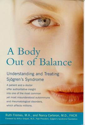 Body out of Balance by Ruth Fremes