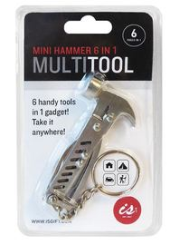 Mini Hammer 6 in 1 Multi Tool