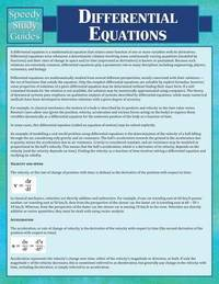 Differential Equations by Speedy Publishing LLC