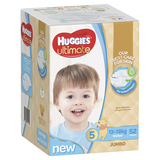 Huggies Ultimate Nappies : Jumbo Pack - Walker Boy 14-18kg (52)