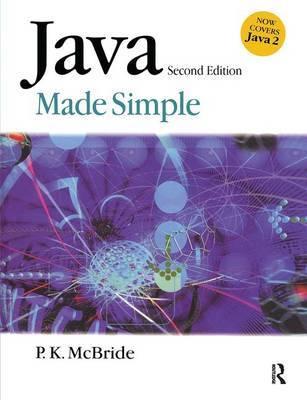 Java Made Simple by P.K. McBride image
