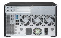QNAP TVS-882BRT3-I7, 8BAY NAS(NO DISK),32G,I7-7700,ODD(0/1),GbE(4),M.2(2),T3(4),TWR,2YR image