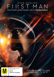 First Man on DVD image